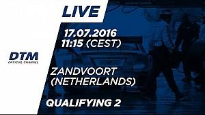 Re-LIVE: Qualifying (Race 2) - DTM Zandvoort 2016