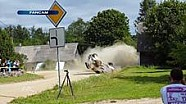 Rallye Estland: 2. Crash von Katsuta