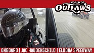 World of Outlaws Craftsman Sprint Cars Jac Haudenschild Eldora Speedway July 15th, 2016 | ONBOARD