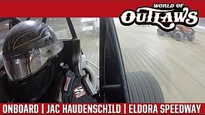 World of Outlaws Craftsman Sprint Cars Jac Haudenschild Eldora Speedway July 15th, 2016 | ONBOARD