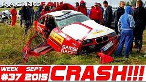 Racing and Rally Crash Compilation Week 37 September 2015
