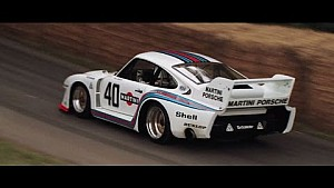 Porsche Motorsport Legends at the Goodwood Festival of Speed 2016