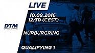 Live: Qualifying (Race 1) - DTM Nürburgring 2016