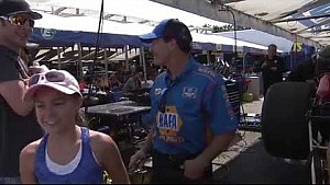 Amanda Busick checks in with Ron Capps heading into the Countdown