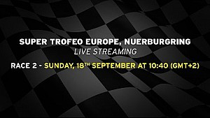 Lamborghini Super Trofeo Europe 2016, Nurburgring - Live streaming Race 2