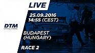 DTM Budapeşte 2016 - 2. Yarış