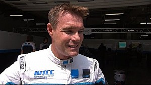 Interview - WTCC Race of China - Free Practice 2