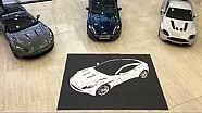 Atrium Art - Creating DB11 using owners guides | Aston Martin