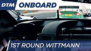 1st Round Onboard: Wittmann - DTM Budapest 2016