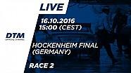 Гонка 2 -  DTM Хоккенхайм - Фінал 2016