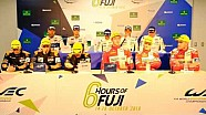 WEC - 2016 6 hours of Fuji - Class Winners press conference