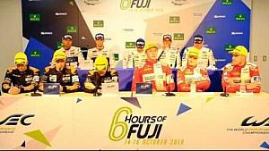 WEC - 2016 6 hours of Fuji - Class Winners press conference