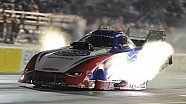 NHRA AAA Texas Funny Car driver Robert Hight powers to No. 1