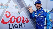 Truex earns back-to-back Coors Light Pole Awards