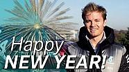 ¡Nico Rosberg le desea un feliz año nuevo!