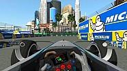 Formel-E-Stadtkurs in Las Vegas