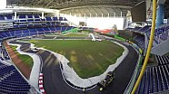 ROC Miami Track Build Time Lapse