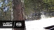 La sortie de Juho Hänninen au Rallye Monte-Carlo