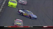 Biffle Hits Wall, Slides Into Pit Stall - Kansas - 10/21/2012
