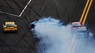 2013 Daytona 500 Kyle Busch spins Kasey Kahne