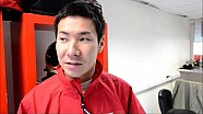 Interview with Kamui Kobayashi (JPN) - nr71 AF Corse Ferrari 458 Italia