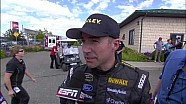 NASCAR Max Papis sends Marcos Ambrose into the wall | Watkins Glen (2013)