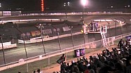 Massive crash for Steve Kinser, Edmonton Oil City Cup Feature Race 1