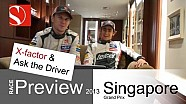 2013 Singapore GP - Race Preview / Ask the Driver - Sauber F1 Team