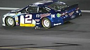 NASCAR Brad Keselowski drags jack onto the track | Charlotte Motor Speedway