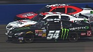 Busch marches through the field in Fontana
