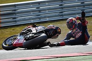 Superbike-WM Fotostrecke Fotostrecke: Sturz von Stefan Bradl im WorldSBK-Training in Assen