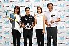 佐藤琢磨、MARUNOUCHI SPORTS FES 2017に登場。体力測定に挑戦
