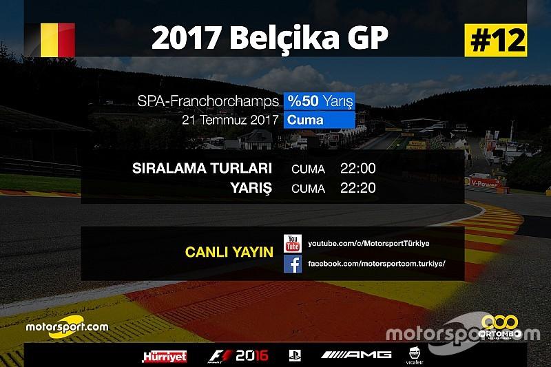 2017 Belçika GP Sanal Turnuva: Canlı Yayın