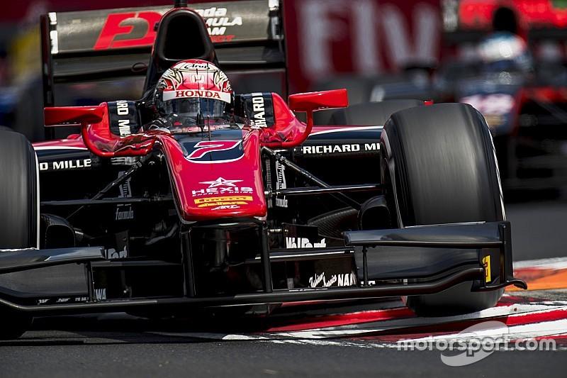 F2 Hungaroring: Zege Matsushita, podium De Vries na sterke start