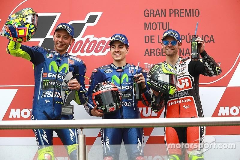 【MotoGP】アルゼンチン決勝:ビニャーレス連勝。ホンダ勢揃って転倒