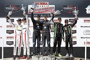 IMSA Reporte de la carrera Tercer triunfo al hilo para los hermanos Taylor