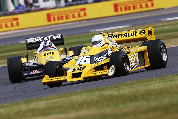 Bildergalerie: Renault feiert 40 Jahre Formel 1 in Silverstone