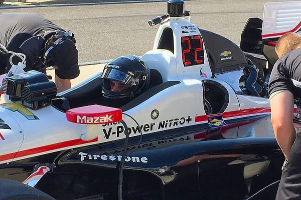 IndyCar Reporte de pruebas Sato lidera, Montoya en Top 10