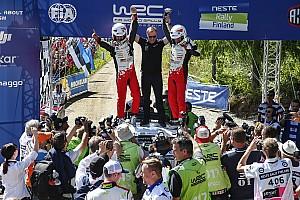 WRC 速報ニュース 【WRC】トヨタに2勝目をもたらした新人ラッピ「なんて素晴らしいラリー!」