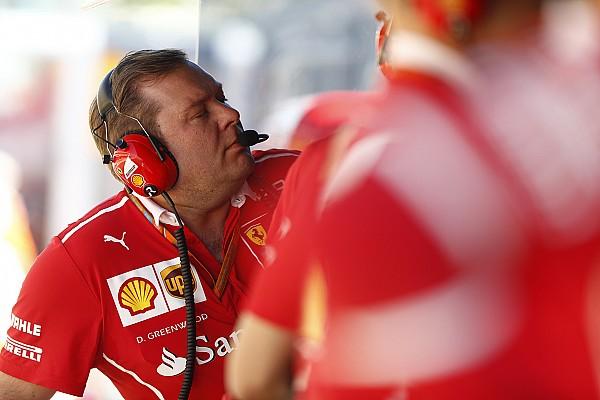 Raikkonen ziet race-engineer Greenwood bij Ferrari vertrekken