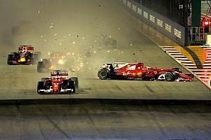 Forma-1 Motorsport.com hírek Nincs büntetés a Verstappen-Vettel-Räikkönen ütközést követően