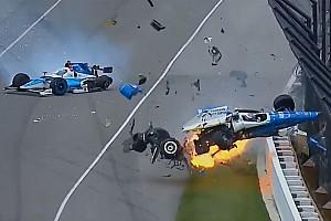 IndyCar Ultime notizie Video: terribile incidente tra Dixon e Howard alla Indy 500