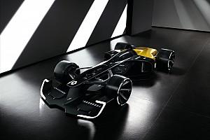 فورمولا 1 أخبار عاجلة رينو تكشف عن تصميم مستقبلي لسيارة فورمولا واحد 2027