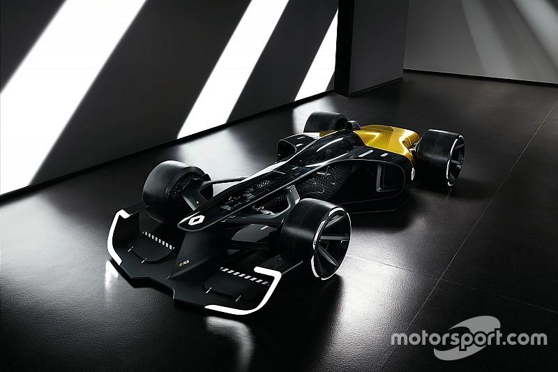 رينو تكشف عن تصميم مستقبلي لسيارة فورمولا واحد 2027