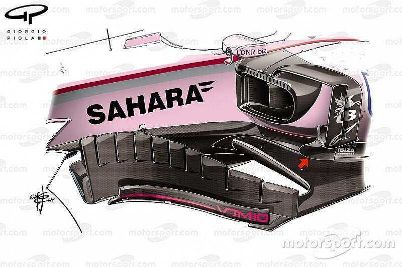 Технический анализ: как Force India оптимизировала свою машину