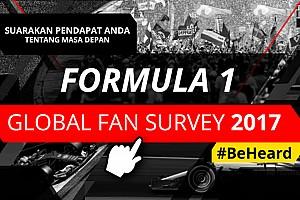 General Siaran pers Motorsport Network luncurkan Global Fan Survey tentang Formula 1