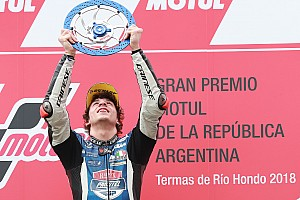 Moto3 Résumé de course Première victoire pour Bezzecchi, Canet leader du championnat