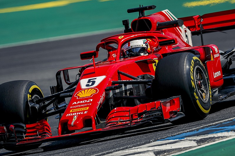 """Vettel verwacht spanning op Hockenheim: """"Strijd met drie teams"""