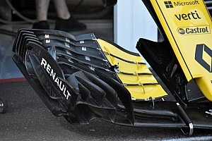 Renault reveals new front wing concept