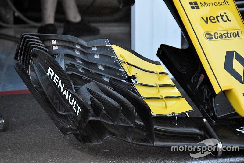 Renault revela su nuevo concepto de alerón delantero